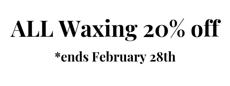 Waxing Specials Richmond VA