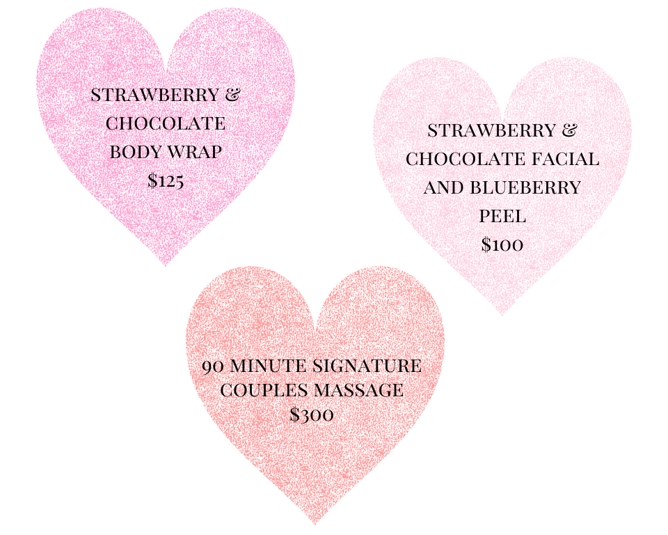 Valentines Day Spa Special